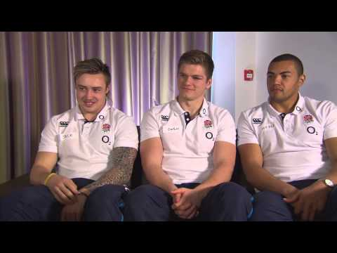 When Harry Met The England Rugby Players...