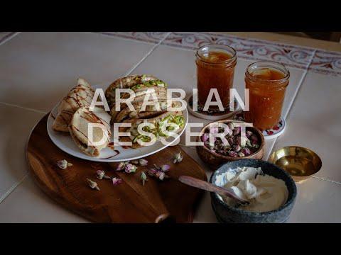 Qatayef | Traditional Arabian Recipes | Vegan + Healthy