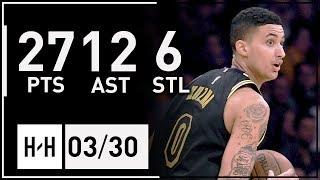 Kyle Kuzma Full Highlights Bucks vs Lakers (2018.03.30) - 27 Pts, 12 Reb, 6 Ast!