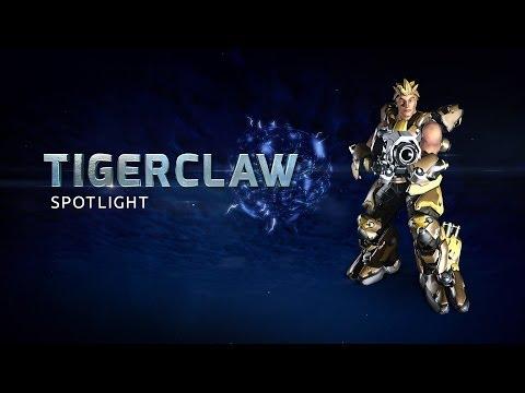 Tigerclaw Battleframe Spotlight - Firefall
