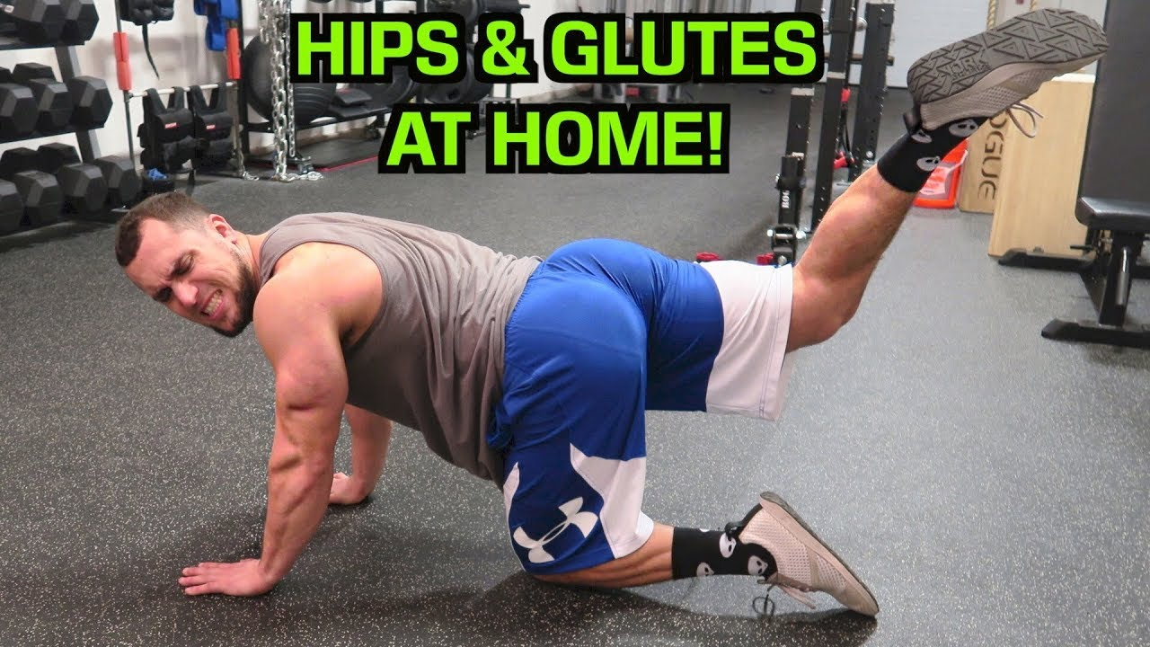 Intense 5 Minute At Home Hip Glute Workout Youtube