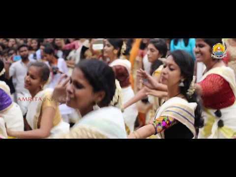 Flash Mob [ Int Science ]   Onam Celebrations 2017 At Amrita Coimbatore Campus