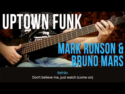 Mark Ronson  ft. Bruno Mars - Uptown Funk (como tocar - aula