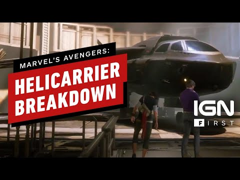 Marvel's Avengers: The Helicarrier Is Your Superhero HQ - IGN First