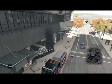 Watch Dogs Rising Boat Glitch- Setting It Up | John Hancock Center | Mad Mile