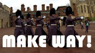 Make Way For The Queen's Guards!