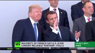 Reliable Partner? Majority of French say US no longer 'trusted ally' - polls