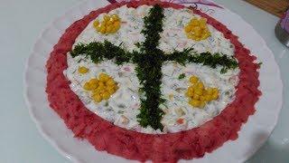 Kırmızı Pancarlı Patates Salatası Tarifi