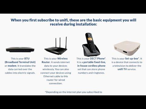 Cara Sambungan Kabel ke Peralatan Unifi Home Fiber FTTH