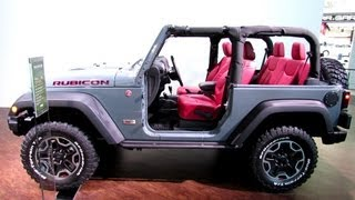 Jeep Wrangler Rubicon 10th Anniversary Edition 2013 Videos