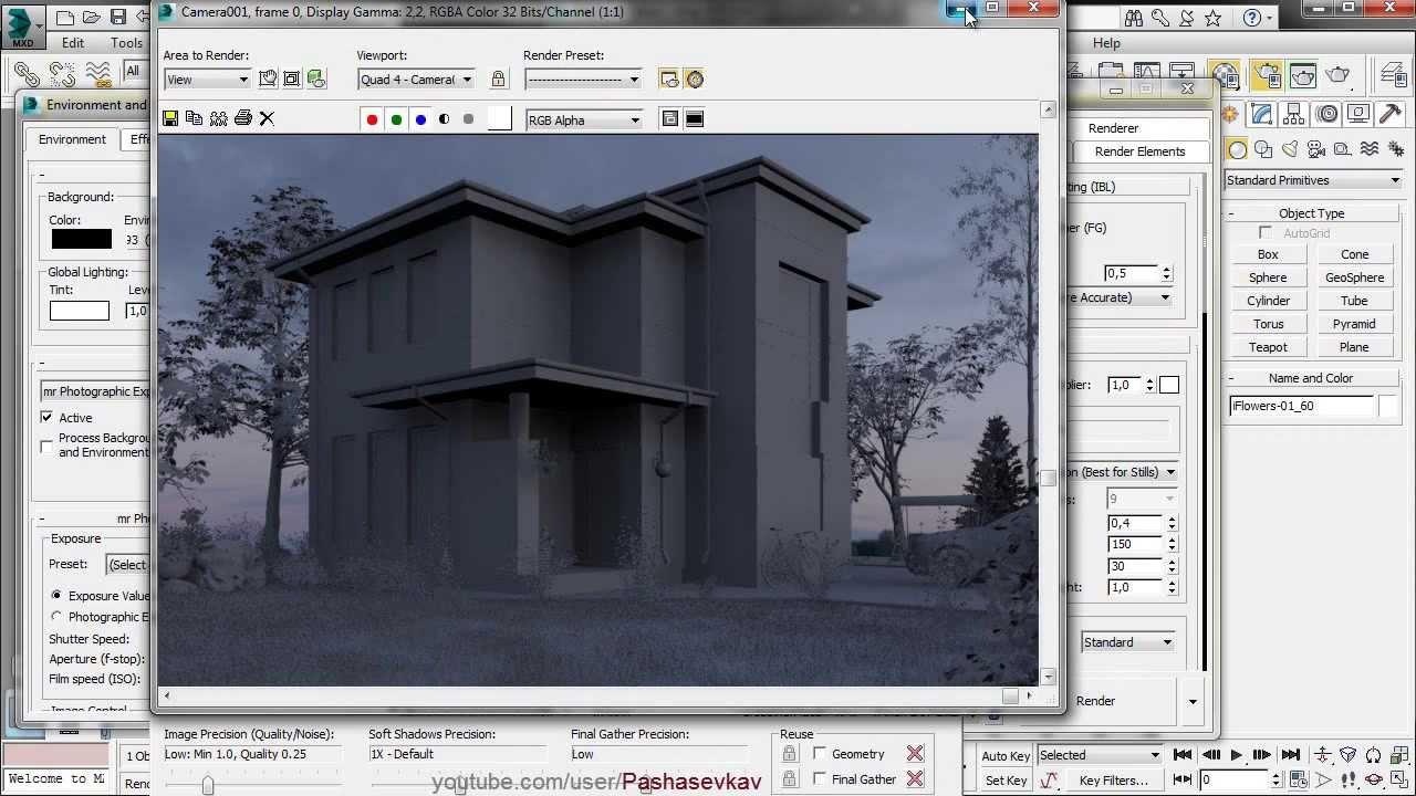 Autodesk 3ds Max Design 2014 Hdri Mental Ray Viyoutube
