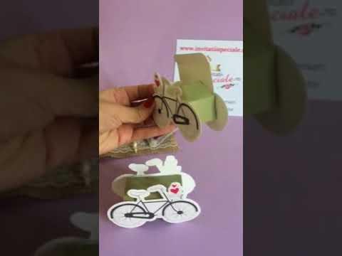 Marturii De Nunta Cutiuta Bomboane Bicicleta Youtube