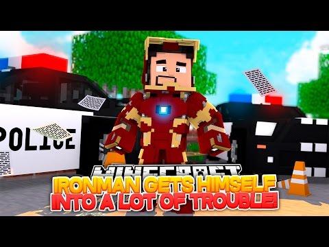 Minecraft Adventure - IRONMAN GETS HIMSELF INTO SOME BIG TROUBLE!!! - Видео из Майнкрафт (Minecraft)