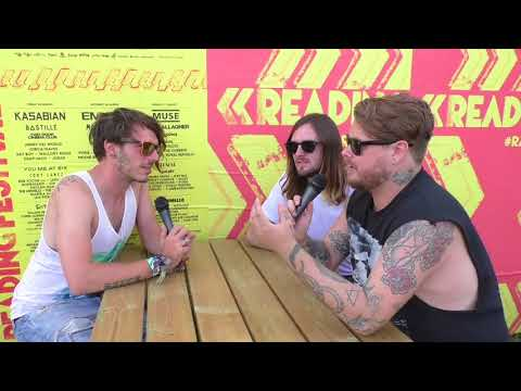 While She Sleeps Interview Reading Festival 2017