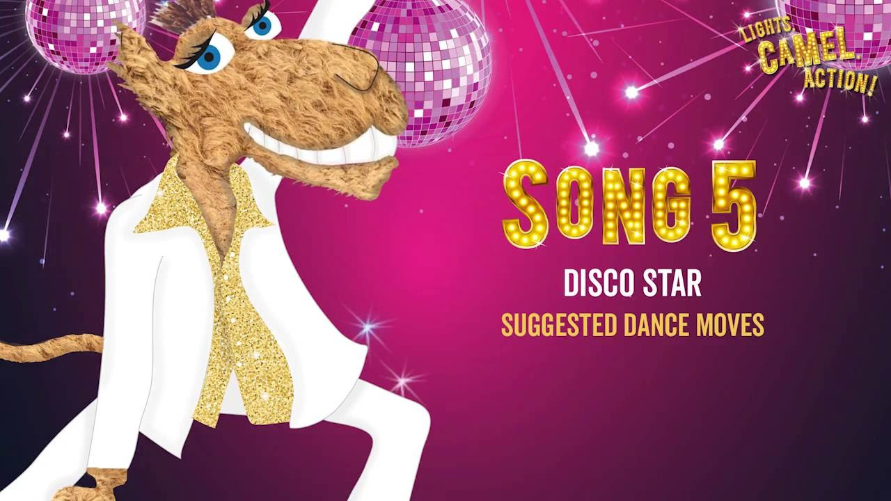 Disco Star Suggested Dance Moves - Lights, Camel, Action ...
