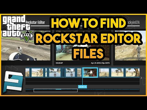 How To Find Rockstar Editor Clips/Files | GTA 5 PC
