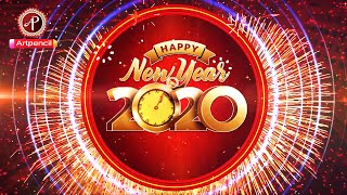 Happy new year 2020 New Year Countdown 2020 Happy New Year Greetings Card New Year Wishes