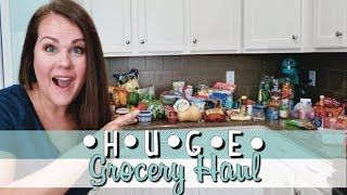 AFFORDABLE GROCERY HAUL | HUGE GROCERY HAUL | TRADER JOES HAUL | ALDI HAUL