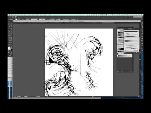 ARTIS212: Adobe Illustrator Tutorial Video 9: Paintbrush And Blob Brush