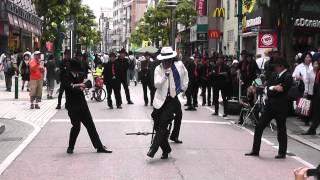 柏にてマイケルジャクソンのスムーズクリミナルを踊りました。 Team 「...