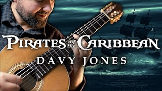 Davy Jones Theme - Pirates of the Caribbean Classical Guitar Cover