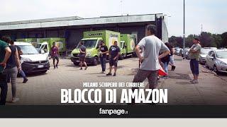 """Blocco dei corrieri Amazon, stop alle consegne: """"Irregolari i nostri contratti"""""""