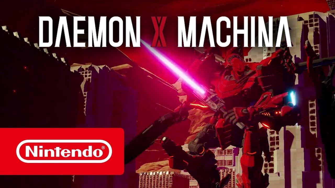 Daemon X Machina - Bande-annonce de l'E3 2018 (Nintendo Switch)