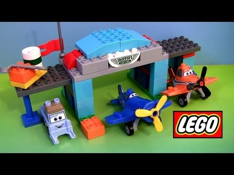 Lego Duplo Planes Skipper Flight School 10511 Disney Airplanes Dusty