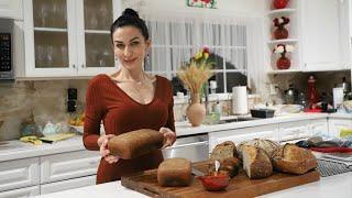 Мой Фирменный Ржаной Цельнозерновой Хлеб На Закваске Рецепт от Эгине Heghineh Cooking Show