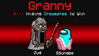 NEW Among Us SCARY GRANNY ROLE?! (Mod)