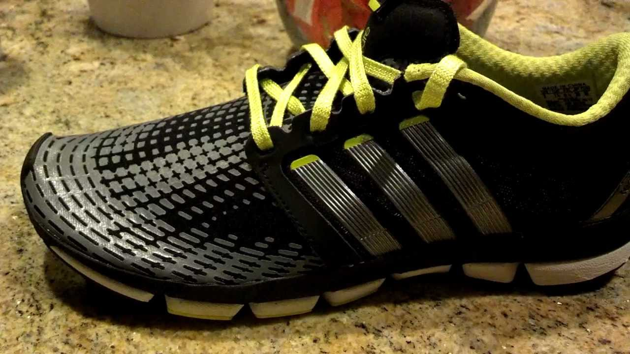 new arrival 859f5 8aaeb Adidas Adipure Motion running shoes - first look - YouTube
