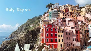 Italy: Day 4 - 6 | TRAVEL VLOG