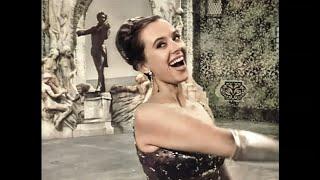Ingeborg Hallstein sings Frühlingsstimmen Walzer (Voices of Spring Waltz) by Johann Strauss II