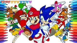 Mario and Sonic Rio Olympic! Let