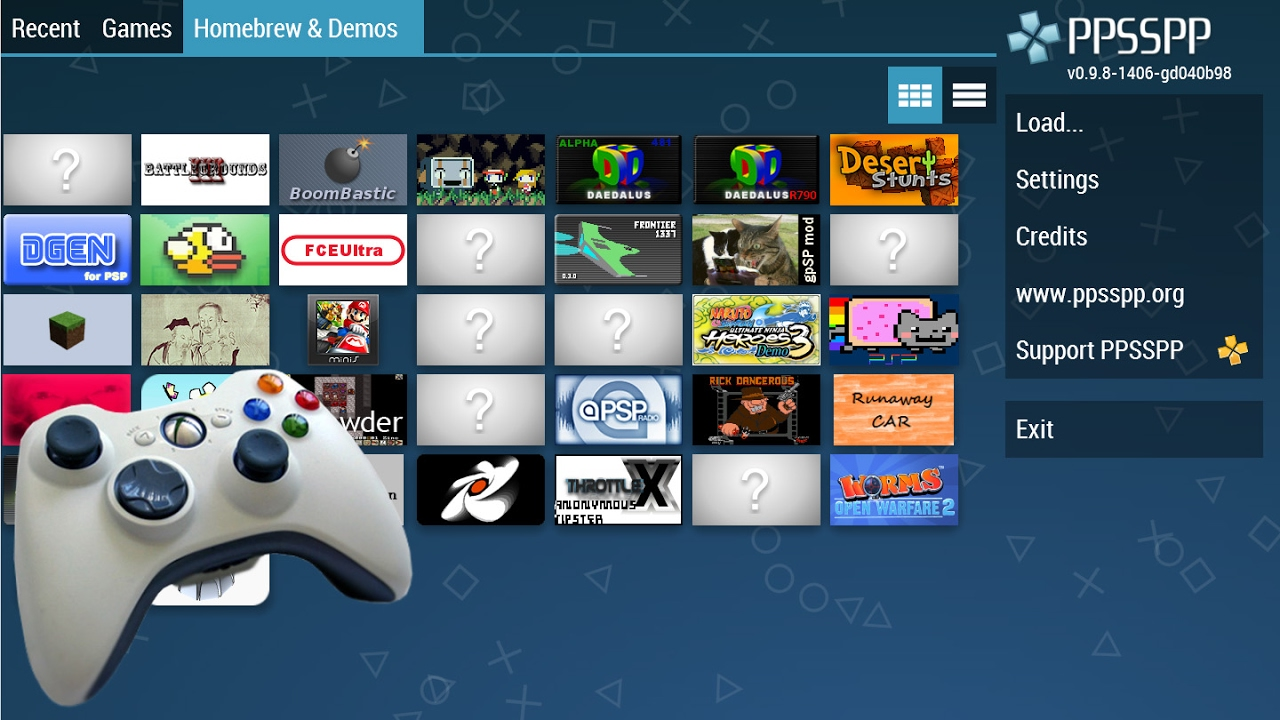 How To Use An Xbox Controller On PPSSPP PSP Emulator