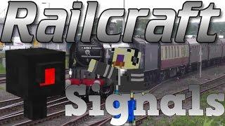 Minecraft Railcraft Tutorial: Signals