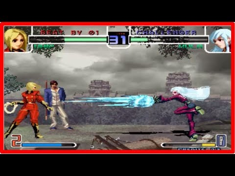 Kof 2002 - Cheng Long(程龙) vs Jessy (Ya Wang, 丫王 ) Yzkof
