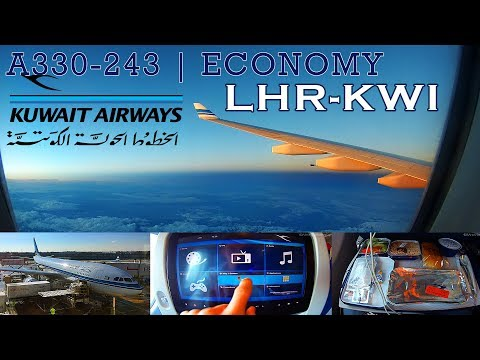 TRIP REPORT | Kuwait Airways | London (LHR) - Kuwait (KWI) | Airbus A330 (ECONOMY)