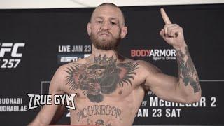 Конор и Порье сделали вес / Взвешивание перед боем на UFC 257 / Conor - Poirier Official Weight in