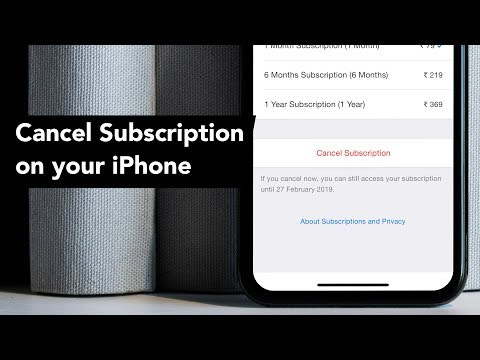 How to Cancel Subscriptions on iPhone or iPad