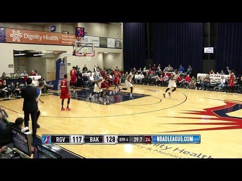 Derek Cooke Jr. posts 11 points & 11 rebounds vs. the Vipers, 12/21/2015