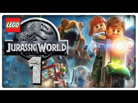 Let's Play LEGO JURASSIC WORLD Part 1: Die Dinos sind los!