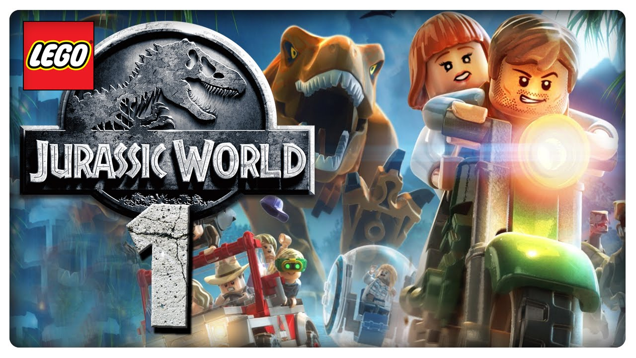 Let\'s Play LEGO JURASSIC WORLD Part 1: Die Dinos sind los! - YouTube