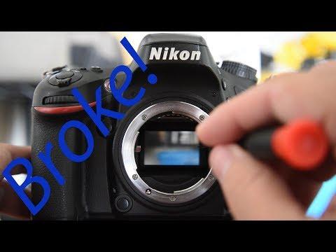 How To Fix A Stuck Nikon DSLR Mirror