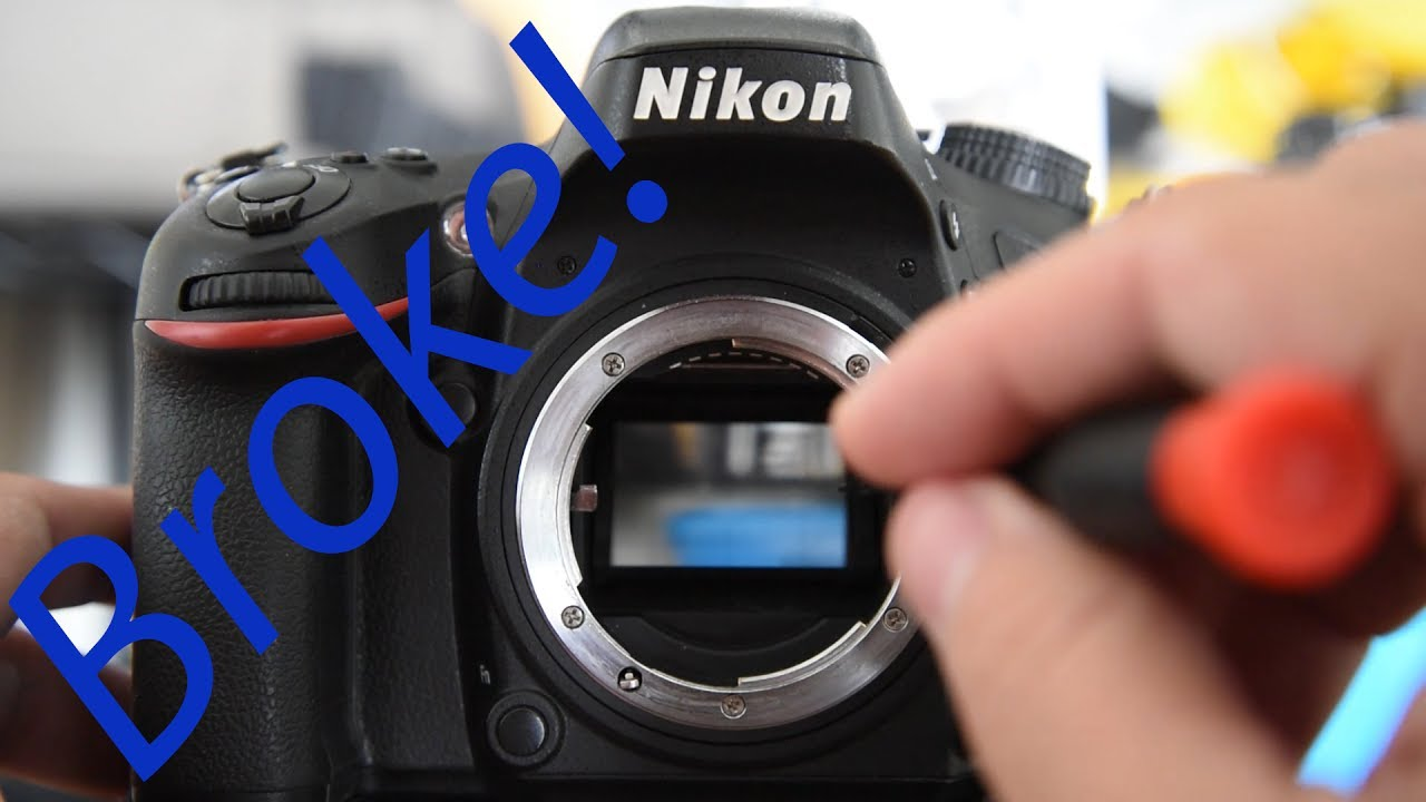 How To Fix A Stuck Nikon DSLR Mirror