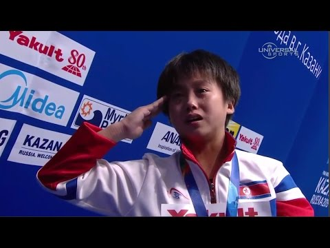 Kim Kuk Hyang wins first Gold for North Korea - Universal Sports