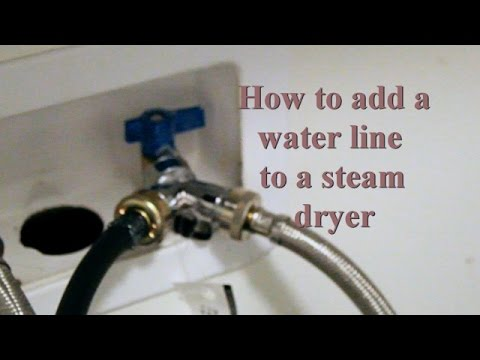 How To Add A Water Outlet Steam Dryer