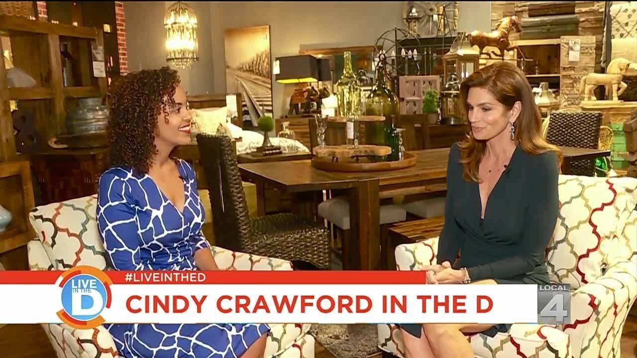 Live In The D Cindy Crawford Gives Back