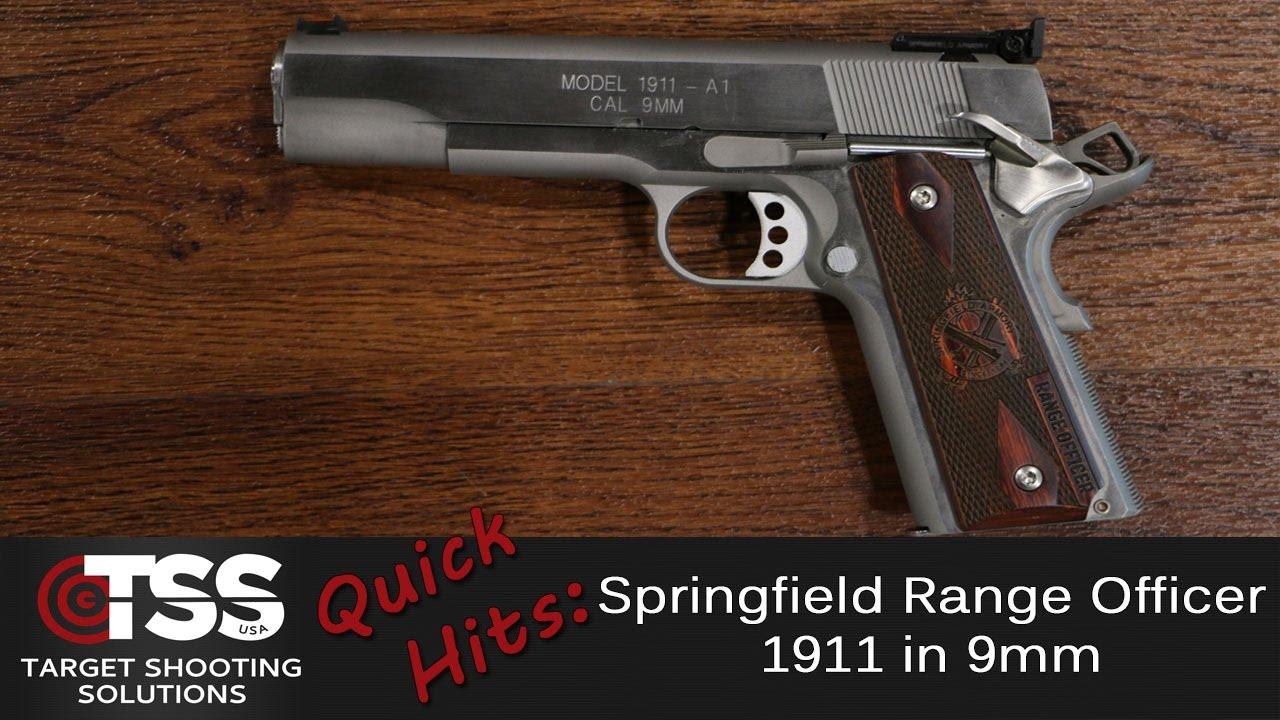 Springfield Range Officer in 9mm