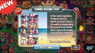 Monster Legend | Summer Breeding Event Has Arrived | Review